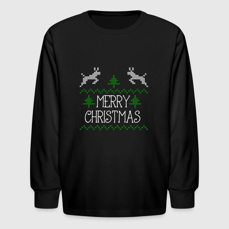 Merry christmas design i long sleeve shirt spreadshirt Merry christmas t shirt design