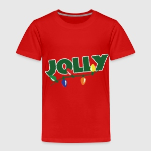 Jolly retro Christmas - Toddler Premium T-Shirt