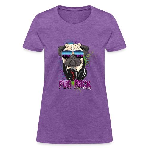 DJ Pug Rock - Women's T-Shirt