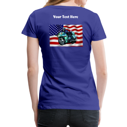 Ladies Premium T Back FlagVoy Custom - Women's Premium T-Shirt