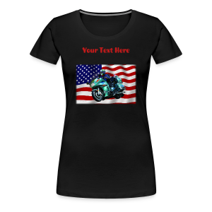 Ladies Premium T Front FlagVoy Custom - Women's Premium T-Shirt