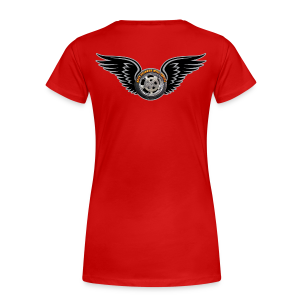 Ladies Premium T Back HWingVoy - Women's Premium T-Shirt
