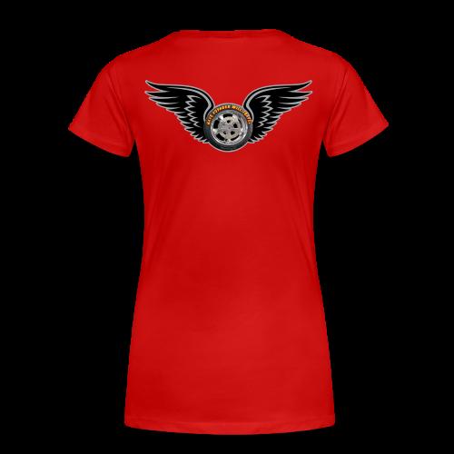Ladies Premium T Back HWingVoy - Women's Premium T-Shirt