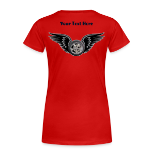Ladies Premium T Back HWing Custom - Women's Premium T-Shirt