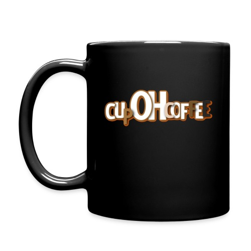 Black CupOHCoffee - Full Color Mug