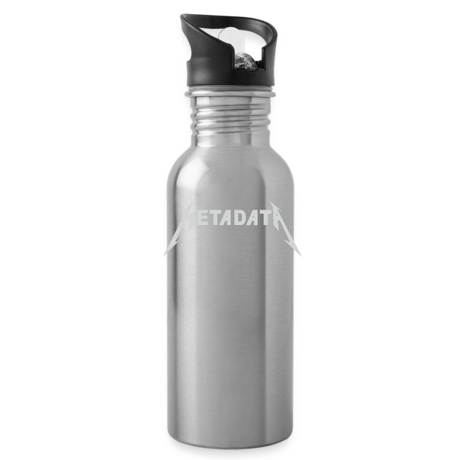 Metadata Water Bottle