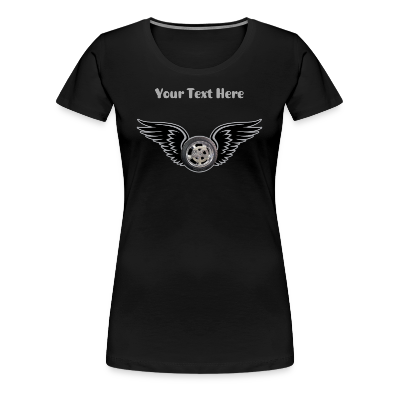 Ladies Premium T Front HWing Custom - Women's Premium T-Shirt