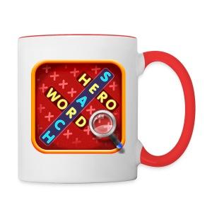 WordSearch Hero Mug - Contrast Coffee Mug