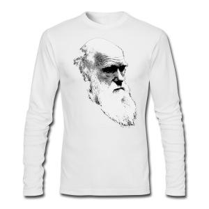 Darwin - Men's Long Sleeve T-Shirt by Next Level