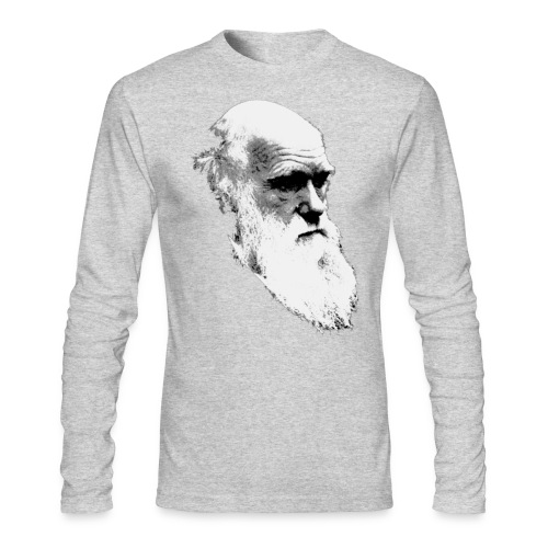 Darwin - Men's Long Sleeve T-Shirt by Next Level