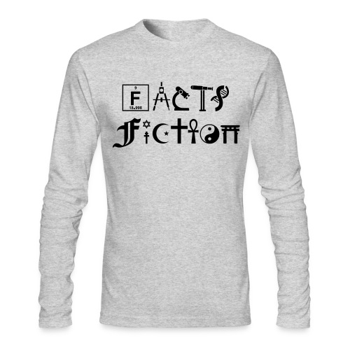 Fiction - Men's Long Sleeve T-Shirt by Next Level