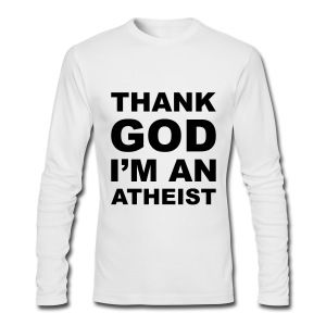 Thank God - Men's Long Sleeve T-Shirt by Next Level