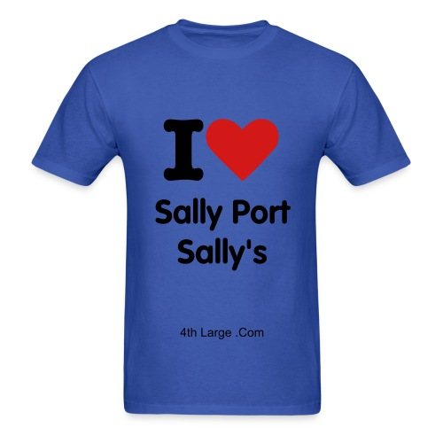 Sally Port Sally - Men's T-Shirt