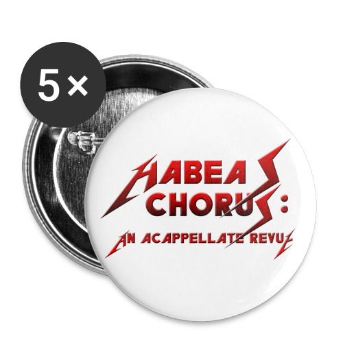 Habeas Chorus Buttons - Small Buttons