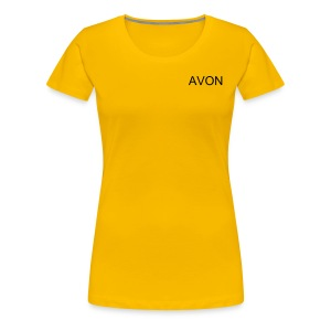 Plus Size Ladies AVON T Shirt - Women's Premium T-Shirt