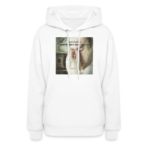 MONEY DOESN'T MAKE THE MAN women's hooded sweatshirt - Women's Hoodie