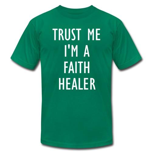 Trust Me Faith Healer - Mens - Men's Fine Jersey T-Shirt