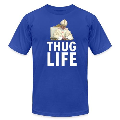Thug Life: The Pope - Mens - Men's Fine Jersey T-Shirt