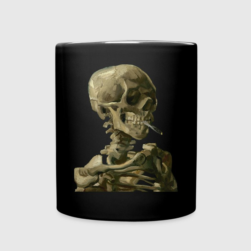 Smoking skull - Full Color Mug