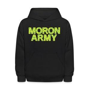 MORON ARMY - Smiles and paws (Kid's Hooded Sweatshirt) - Kids' Hoodie