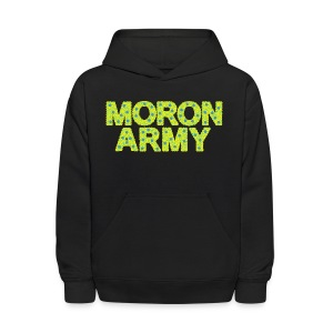 MORON ARMY - Smiles and paws (Kid's Hooded Sweatshirt) - Kids' Hoodie