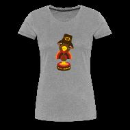 Women's T-Shirts ~ Women's Premium T-Shirt ~ Gobble Bobble Head