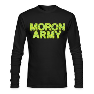 MORON ARMY - Smiles and paws (long sleeve) - Men's Long Sleeve T-Shirt by Next Level