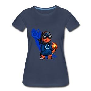 Represent #TeamAlpha! (Womens) - Women's Premium T-Shirt