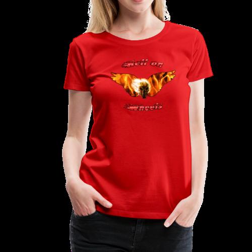 Ladies Premium T Hell on Wheels (Front) - Women's Premium T-Shirt