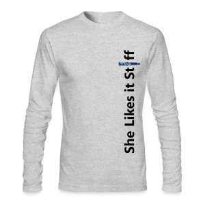 Stiff - Men's Long Sleeve T-Shirt by Next Level
