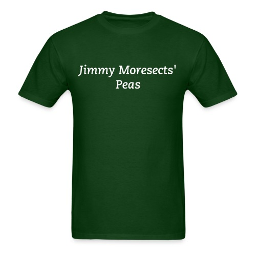 Jimmy Moresect's Peas - Men's T-Shirt