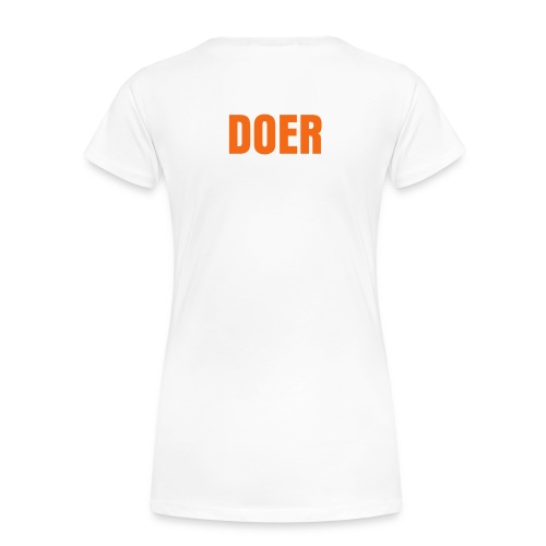 MAKE.DO./DOER TEE  - Women's Premium T-Shirt