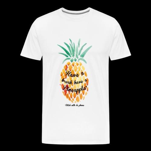 #BWDP Pineapple M - T-shirt premium pour hommes