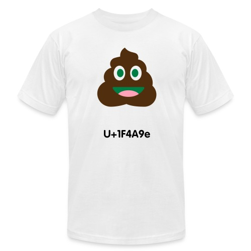Pile of poo emoji - Men's Fine Jersey T-Shirt