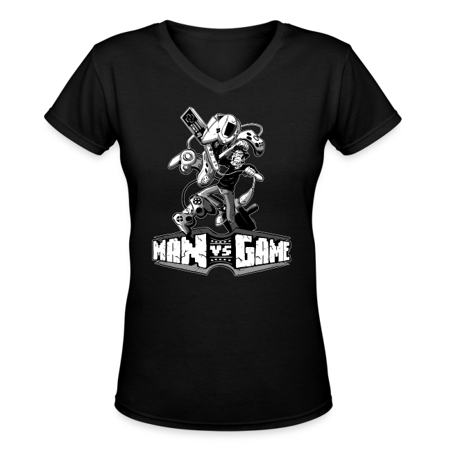 Women's Struggle V-Neck T-Shirt
