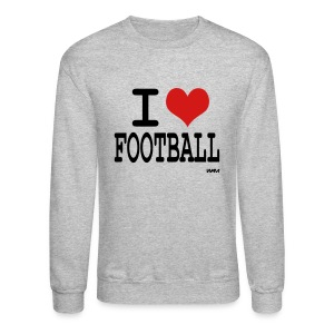 Football grey - Crewneck Sweatshirt