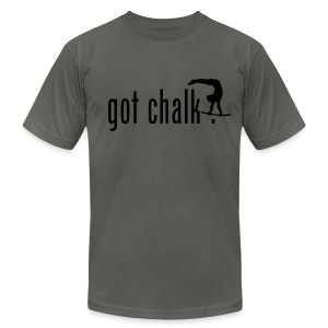 got chalk? - Men's T-Shirt by American Apparel