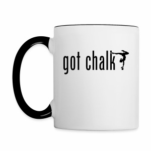 got chalk? - Contrast Coffee Mug