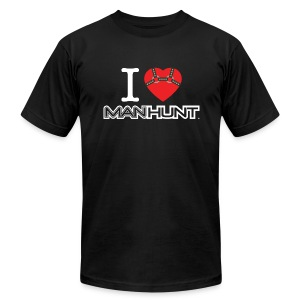 Bound Heart T - Dark - Men's T-Shirt by American Apparel