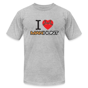 Bound Heart T - Light - Men's T-Shirt by American Apparel