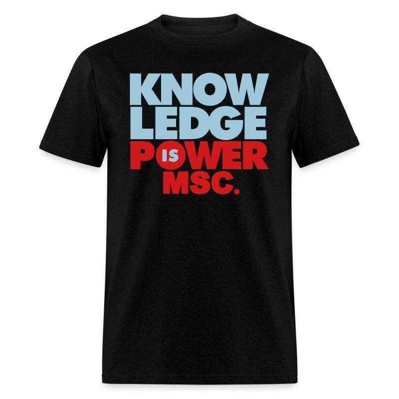 knowledge2 - Men's T-Shirt