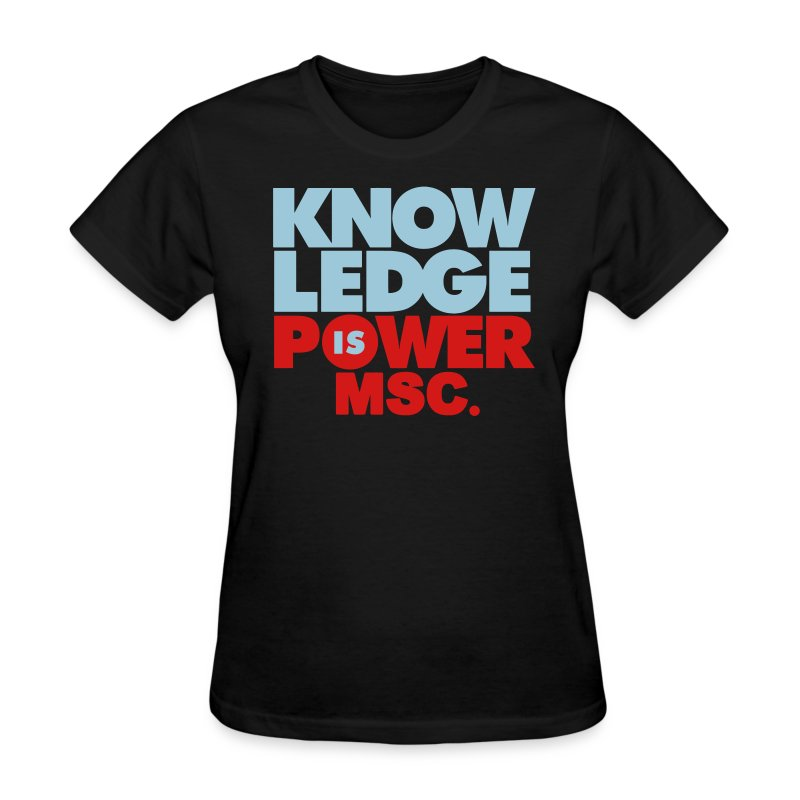 knowledge2 - Women's T-Shirt