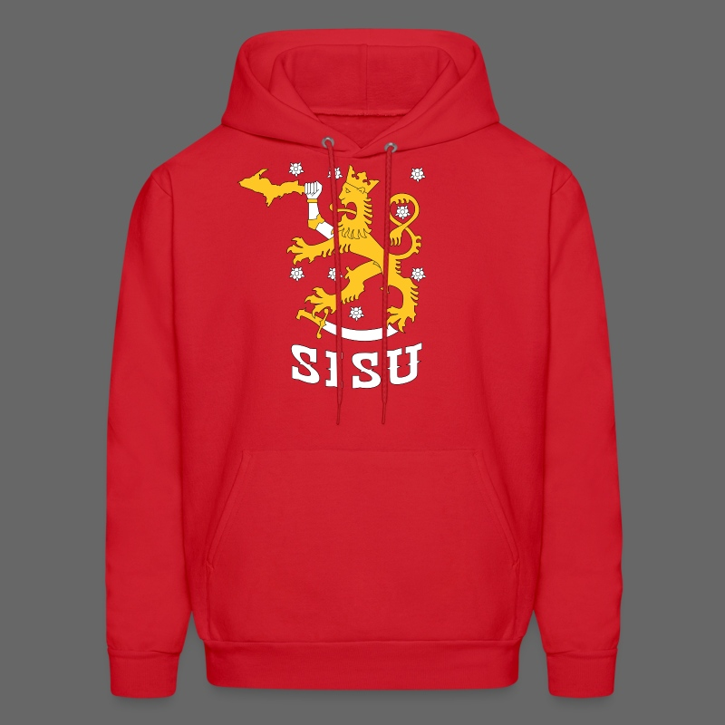 SISU UP Lion - Men's Hoodie