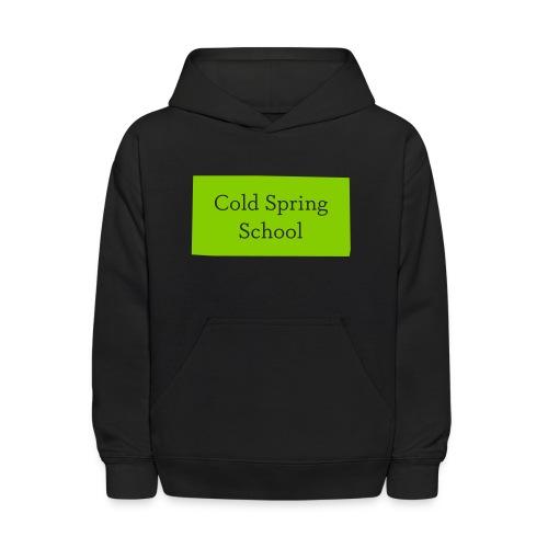 Cold Spring Kid's  Black Hoodie - Kids' Hoodie