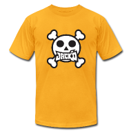 T-Shirts ~ Men's T-Shirt by American Apparel ~ Jack'd Pirate T