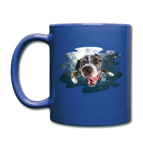 Full Color Mug - yorkshire terrier,underwaterdogs,underwater puppies,underwater dogs,underwater,stafforshire bull terrier,seth casteel,rottweiler,puppies,pitbull,pit bull terrier,littlefriendsphoto,labrador retriever,dogs underwater,dogs,dog,dachshund,boston terrier,black labrador retriever,black lab