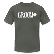 T-Shirts ~ Men's T-Shirt by American Apparel ~ Groom 1