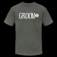 T-Shirts ~ Men's T-Shirt by American Apparel ~ Groom 1