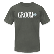 T-Shirts ~ Men's T-Shirt by American Apparel ~ Groom 2