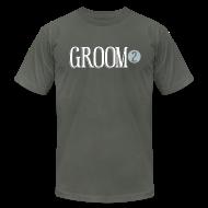 T-Shirts ~ Men's T-Shirt by American Apparel ~ Groom 2